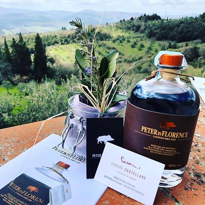 Dalle colline Toscane a Berlino il gin Peter in Florence - Corriere del Vino